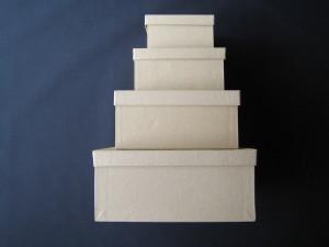 foto di scatole quadrate